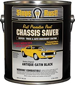 Chassis Saver? Antique Satin Black, 1 Gallon