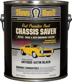 Chassis Saver? Antique Satin Black, 1 Gallon