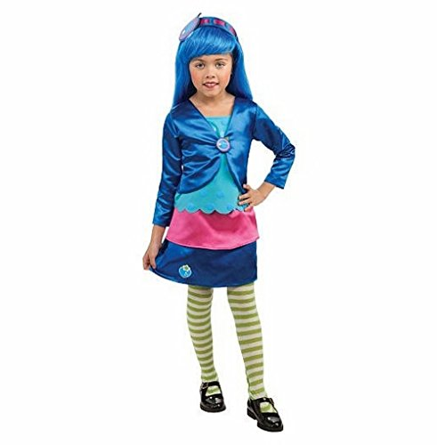 Strawberry Shortcake Blueberry Muffin Deluxe Halloween Costume - Toddler Size