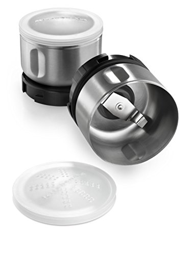 KitchenAid Bcgsga Spice Grinder Accessory Kit, Stainless Steel (Kitchenaid Grinder Accessory compare prices)