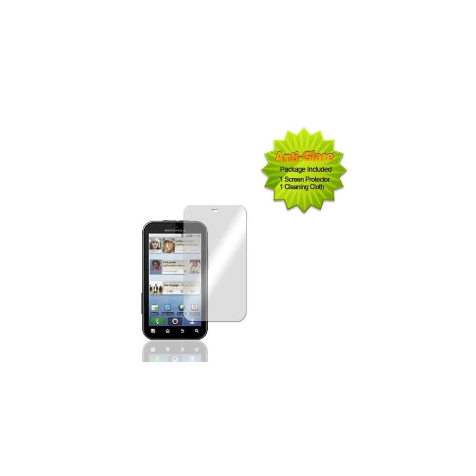 Motorola Defy MB525 Anti Glare Screen Guard Protector Cell Phones & Accessories
