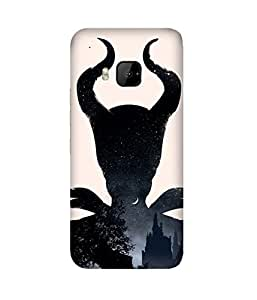 Midnight Lady HTC One M9+ Case