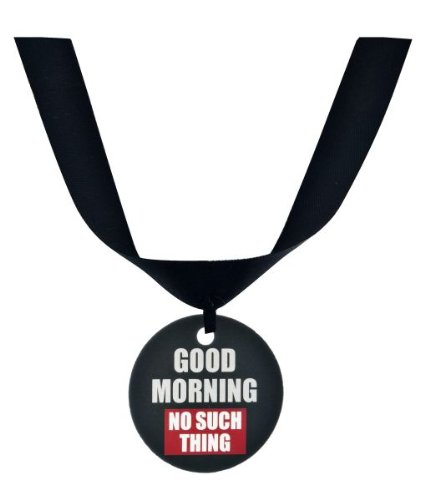 "Ganz Grumpy Cat Collar Accessory ""Good Morning No Such Thing"""