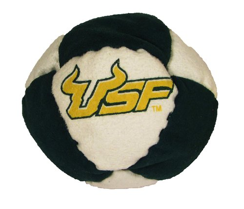 Hacky Sack - College Logo 8 Panelled South Florida Design - 1