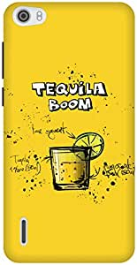 The Racoon Grip Lemon Tequila Boom hard plastic printed back case / cover for Huawei Honor 6