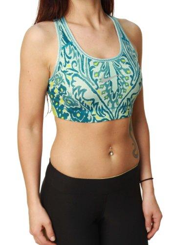 Nike Women's Dri-Fit Stay Cool Racerback Sports Bra-Medium