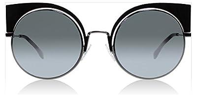 Fendi KJ1T4 Gunmetal 0177/S Cats Eyes Sunglasses Lens Category 3 Lens Mirrored