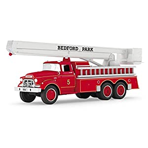 Hallmark 2016 Christmas Ornament 1959 GMC® Fire Engine Fire Brigade Ornament With Lights 14th in Series