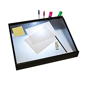 Modern a3 black wooden hobby craft daylight light box for Lightbox amazon