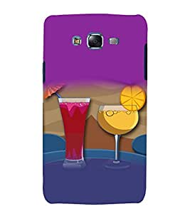printtech Bar Drink Martini Cocktail Back Case Cover for Samsung Galaxy A7 / Samsung Galaxy A7 A700F