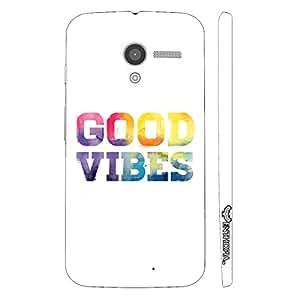 Motorola Moto X Good Vibes designer mobile hard shell case by Enthopia