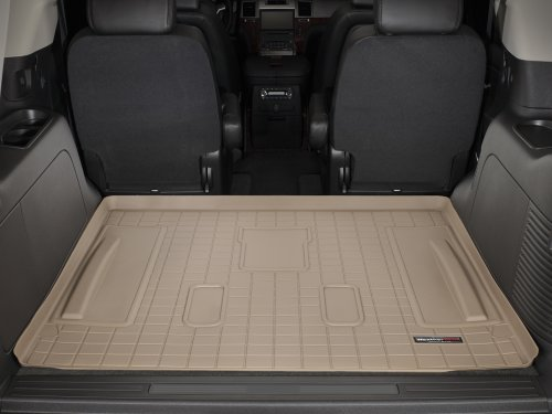Tan 451281 WeatherTech Custom Fit Front FloorLiner for Subaru Forester