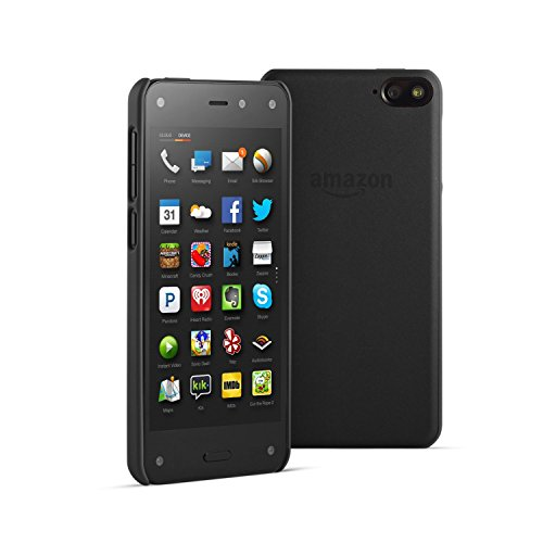 Amazon Fire Phone 32GB Unlocked GSM + Black Case Bundle