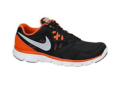 Men's Nike Flex Experience 3 Running Shoe Black/Orange/White Size 7.5 M US
