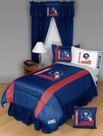 New York Giants Twin Comforter Bedding New Nfl Boys Football