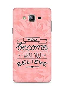 AMEZ you become what you believe Back Cover For Samsung Galaxy ON5