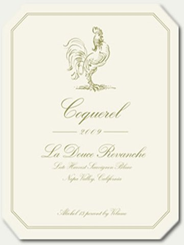 2009 Coquerel Family Wines La Douce Revanche Sauvignon Blanc 375 Ml
