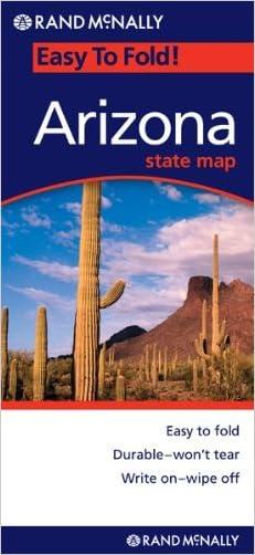 Rand Mcnally EasyFinder Arizona (Map)