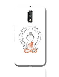 PosterGuy Moto G4 Plus Covers & Cases - Lord Buddha Spiritual Advice | Designed by: Sayli