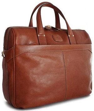 Bric's Luggage Life Pelle Briefcase