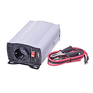 Filmer 36206 Spannungswandler Power Converter 12V auf 230V, 300W from Filmer