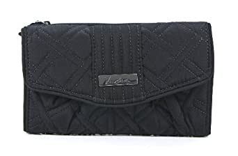 Vera Bradley Strap Wallet (Black)