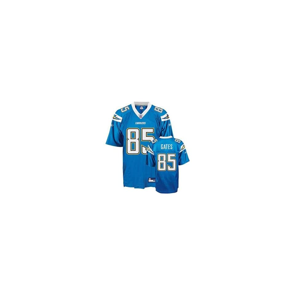 Antonio Gates #85 San Diego Chargers NFL Replica Player Jersey By Reebok (Alternate Color)