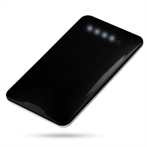 Andream 4000Mah Black Ultra-Thin 0.29 Inches External Lithium Polymer Battery Pack Under Security Protection