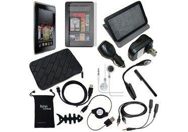 DigitalsOnDemand ® 15-Item Accessory Bundle for Amazon Kindle Fire 7