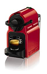 Krups Nespresso Krups Inissia Red Coffee Machine
