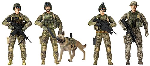 Sunny Days Entertainment Elite Force Army Rangers 5 Pack