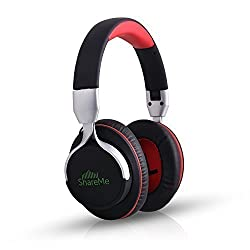 Mixcder ShareMe Bluetooth V4.1 Headphones Wireless Gaming Headset with Bluetooth Split Technology & Built-in Noise-cancelling Microphone Volume Control for Hands Free Calling[CNET's PICK]