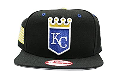 New Era Kansas City Royals Snapback in Black with Grey Bottom