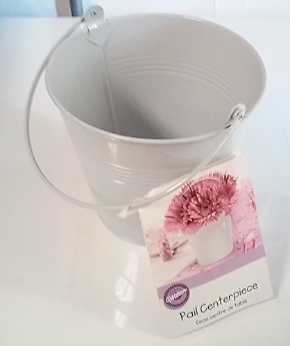White Miniature Bucket 3 x 3""