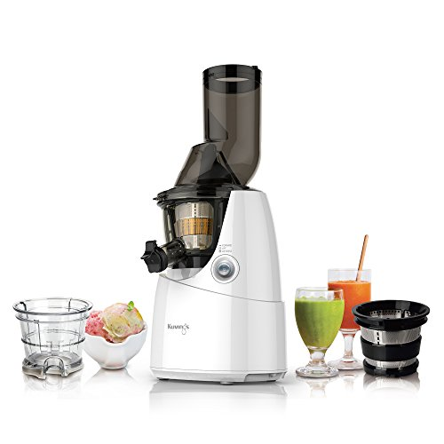 Kuvings Whole Slow Juicer B6000WR White, includes Sorbet and Smoothie Strainer Kitchen Dining ...