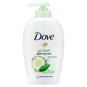 Dove facial wash cream taste! Fucking