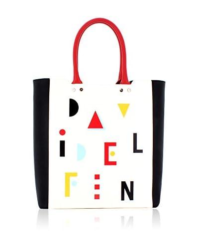 davidelfin Bolso shopping Name Game Blanco