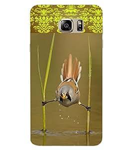 ColourCraft Rare Bird Design Back Case Cover for SAMSUNG GALAXY NOTE 6