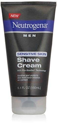 Shave Cream Men Sensitive Skin 5.1 oz. by Neutrogena - BESTSELLER • $16.95