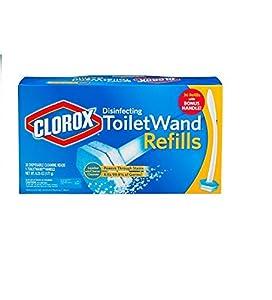Clorox Toilet Wand Disinfecting Refills, 36 Ct Plus Bonus Handle