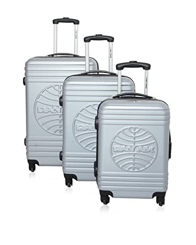 Bazar De Maletas Set Trolley Panam Airlines