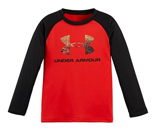 Under Armour Little Boys L/S Real Tree Print Top (4 Little Kids)