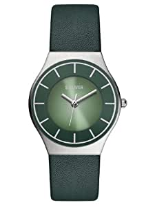 s.Oliver Damen-Armbanduhr XS Analog Quarz Leder SO-2813-LQ