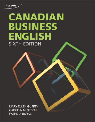 Canadian Business English , 6th Edition