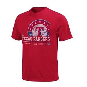 texas rangers submariner heathered tshirt amazonca