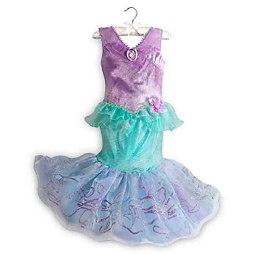 Disney - Ariel Little Mermaid 2015 Style Fancy Costume for Girls- Size 5/6 - NEW