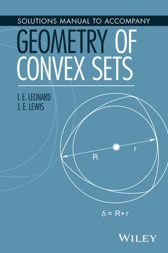 Solutions Manual to Accompany Geometry of Convex Sets PDF