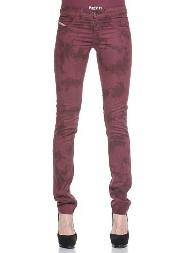 Diesel Pantalone  Bordeaux W25