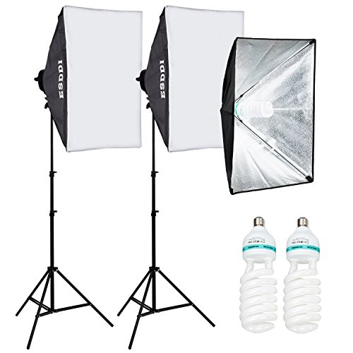 Studio Lighting For Streaming: Esddi Images Softbox Steady Lighting System Picture Studio