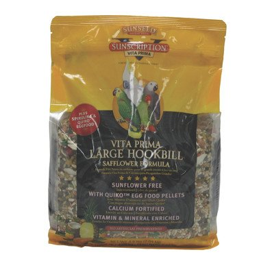 Vita Prima Hookbill Food Size: 4.5 Pound